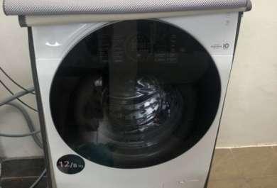 วิธีการคลุมผ้าคลุมเครื่องซักผ้า